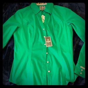 Express essential dress shirt. NEW. XS